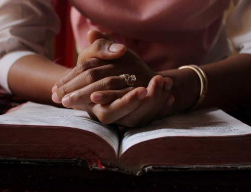 영적 성장을 위한 기도 (2021년 2월)